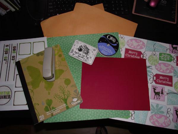 Christmas Planner Supplies