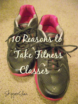 Ten Reasons to Take Fitness Classes