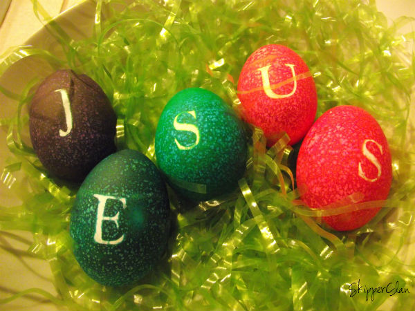 Jesus Easter Eggs
