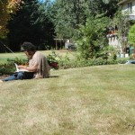 Prayer in a Garden