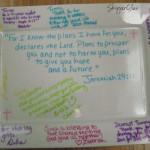 Sharpie Sentiments on Platter Gift