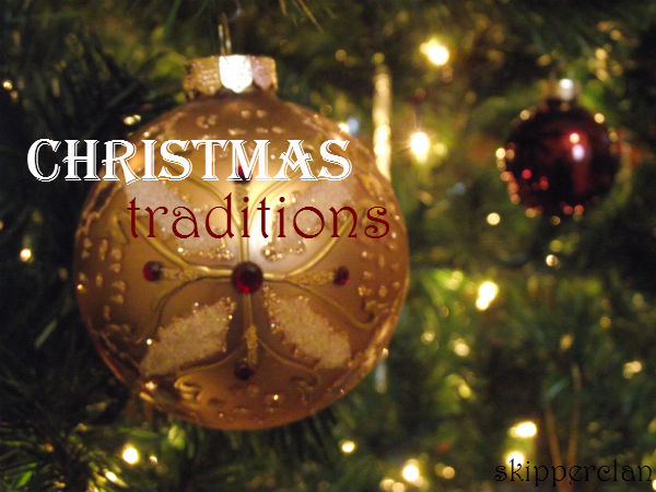 Christmas Traditions Ornament