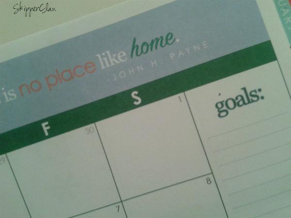 calendar goals