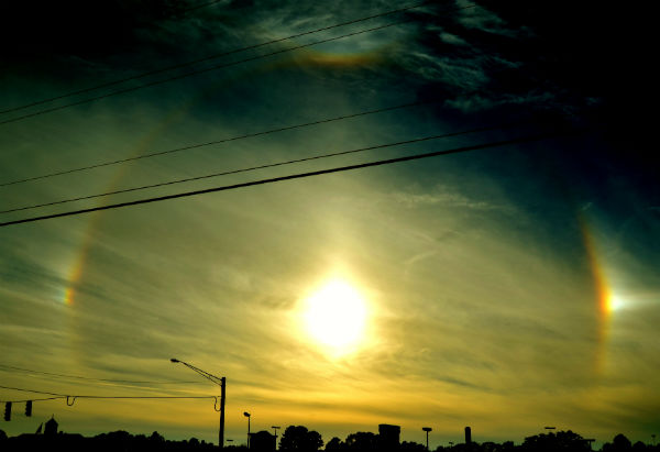 Sun Dog Sky At SkipperClan