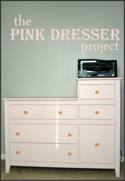 The Pink Dresser Project
