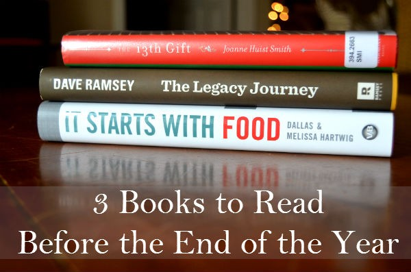 3 Books to Read Before the End of the Year