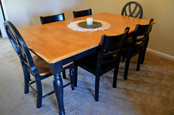 Table Makeover with Vintage Furniture Paint Set
