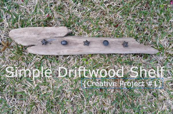 Driftwood Shelf Complete