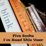 Five Books I've Read This Year at SkipperClan