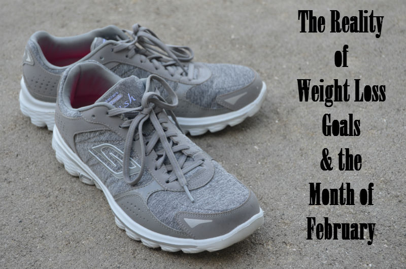 Reality of Weight Loss Goals and February at SkipperClan