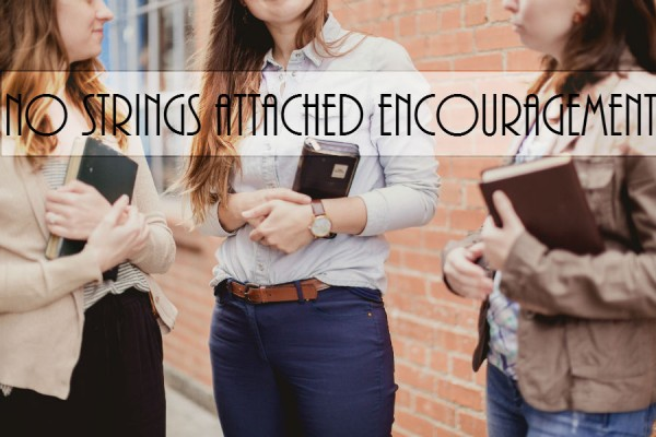 No Strings Attached Encouragement lightstock_203885