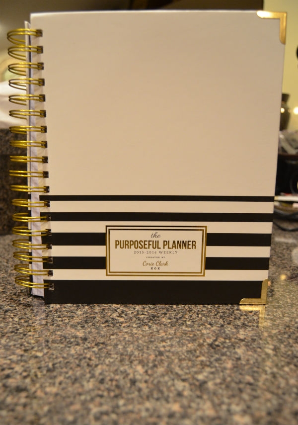 Purposeful Planner Giveaway Planner at SkipperClan